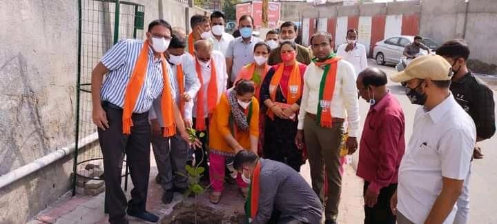 BJP કાર્યકર્તાઓ ગાઈડલાઈન ભૂલી ટોળે વળ્યાં