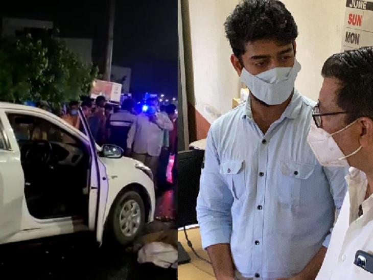 શિવરંજની પાસે અકસ્માતથી લઈને પોલીસ સમક્ષ હાજર થવા સુધી, પર્વ શાહ કેસમાં ગઈકાલે રાત્રે 11.30થી આજે 5.45 સુધીમાં શું-શું બન્યું?|અમદાવાદ,Ahmedabad - Divya Bhaskar