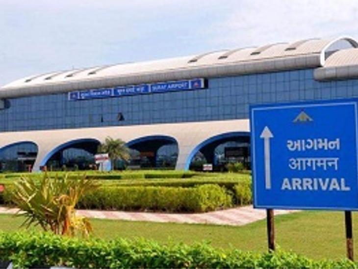 સુરત એરપોર્ટ પર કનેક્ટિવિટી વધશે, સ્પાઈસ જેટની ફ્લાઈટ પટણા અને કોલકાત્તા સુધીની શરૂ થશે|સુરત,Surat - Divya Bhaskar