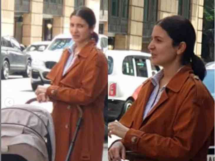 એક્ટ્રેસ દીકરી વામિકાને બાબાગાડીમાં બેસાડીને વૉક પર નીકળી, તસવીરો સો.મીડિયામાં વાઇરલ|બોલિવૂડ,Bollywood - Divya Bhaskar