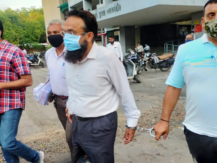 ગુજરાત ATSએ સલાઉદ્દીન શેખ નામના એક શખસની અમદાવાદમાં ધરપકડ કરી, NGO દ્વારા લાખોનું ફન્ડિંગ આપ્યાનો આરોપ|અમદાવાદ,Ahmedabad - Divya Bhaskar