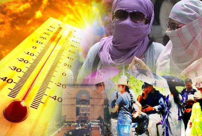 દિલ્હીમાં ગુરુવારે તાપમાનનો પારો 44 ડિગ્રી હતો.