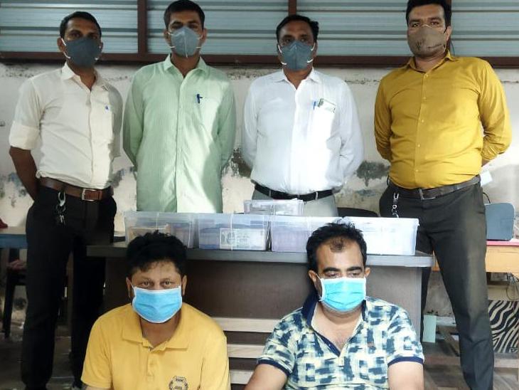 આંગડિયા સાથે છેતરપિંડી કરનાર રાજકોટની ગેંગ પાસેથી રોકડ જપ્ત|સુરેન્દ્રનગર,Surendranagar - Divya Bhaskar