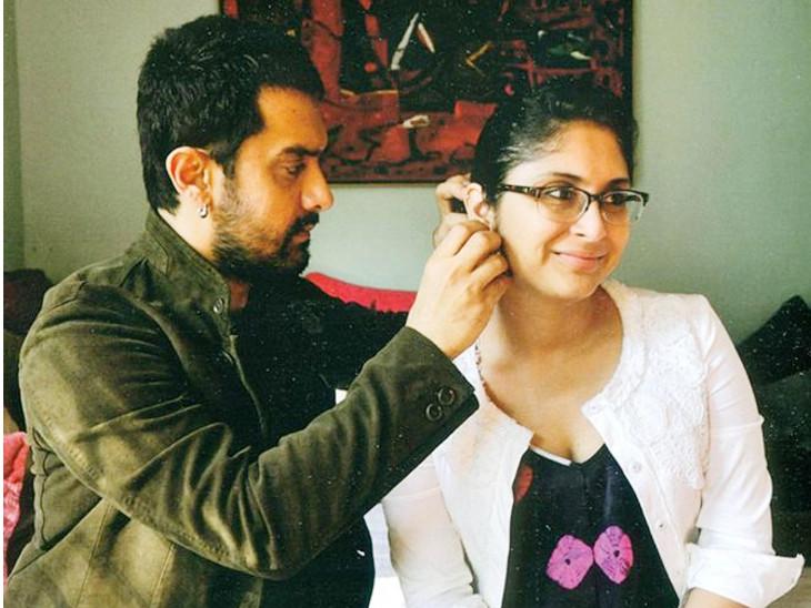એક સમયે આમિરને કિરણ રાવ વગર પોતાની લાઇફ અધૂરી લાગતી હતી, ફિલ્મ 'લગાન'ના સેટ પર થઈ હતી બંનેની મુલાકાત|બોલિવૂડ,Bollywood - Divya Bhaskar