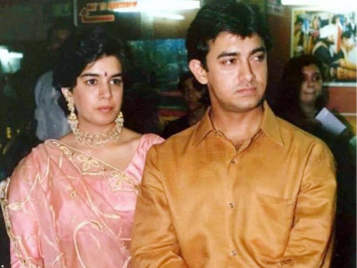 એક સમયે રીનાના ગળા ડૂબ પ્રેમમાં હતો આમિર ખાન, આ લગ્ન પણ 16 વર્ષ સુધી ટક્યા, જાણો બંને વચ્ચે કેમ અંતર આવ્યું?|બોલિવૂડ,Bollywood - Divya Bhaskar