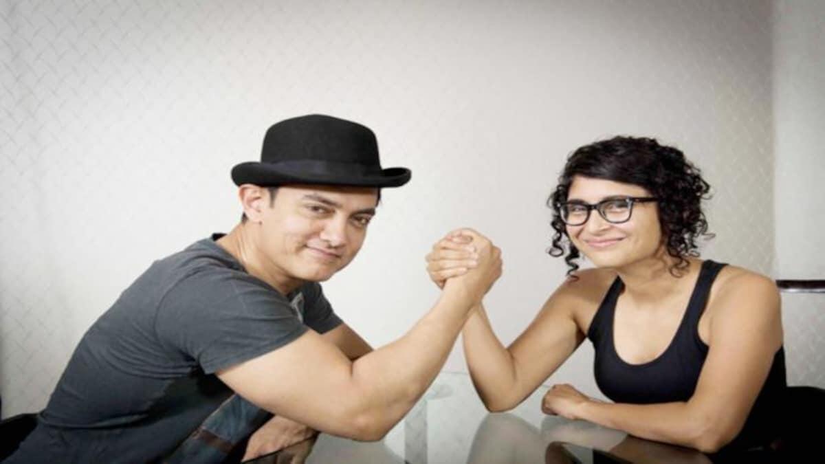 આમિર અને કિરણે વર્ષ 2005માં લગ્ન કરી લીધાં હતાં.