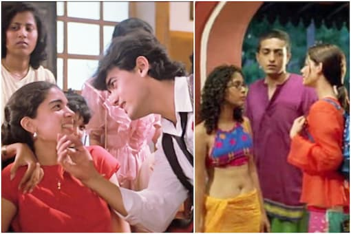 'કયામત સે કયામત તક'માં રીના દત્તા (ડાબે) અને 'દિલ ચાહતા હૈ'માં કિરણ રાવ (જમણે) - Divya Bhaskar