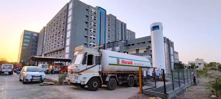 જૂનાગઢ સિવિલ હોસ્પિટલ - Divya Bhaskar