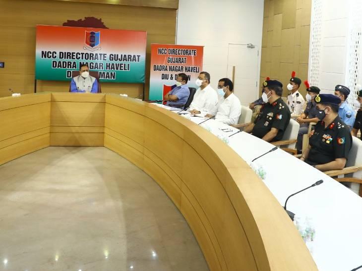 ગુજરાતમાં NCC પ્રવૃતિઓને પ્રોત્સાહન આપવા રાજ્ય સરકારની સંકલ્પબદ્ધતા