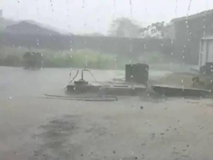 છેલ્લા 24 કલાકમાં સમગ્ર રાજ્યમાં માત્ર ત્રણ જ વિસ્તારોમાં વરસાદ થયો