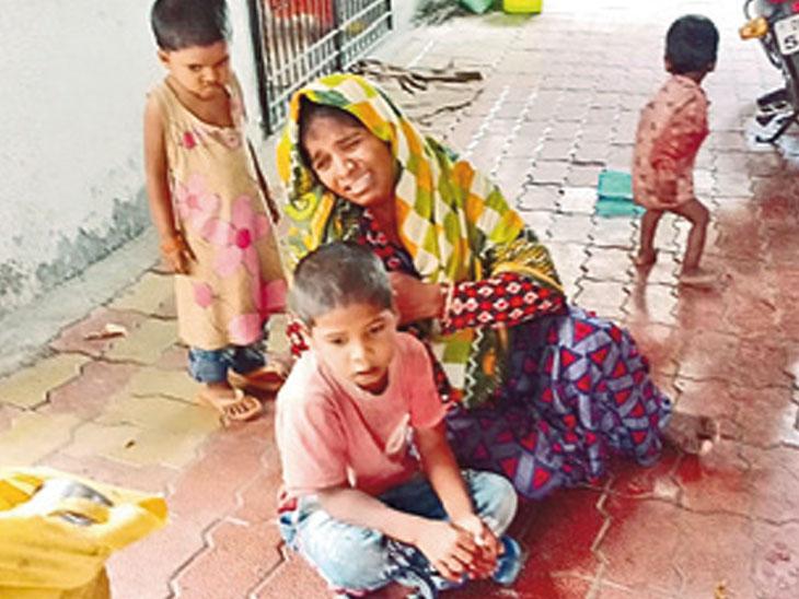મૃતકની પત્નીની ન્યાય માટે ગુહાર - Divya Bhaskar