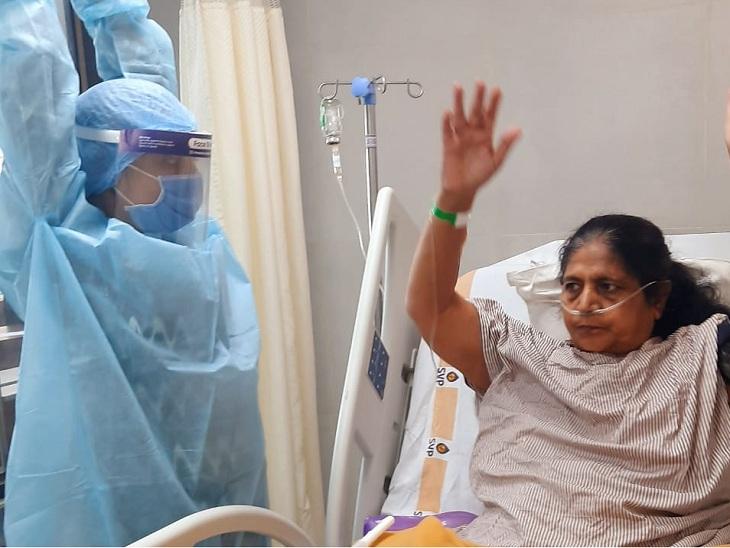 કોરોનાથી સ્વસ્થ થયેલા દર્દીઓમાં ઓક્સિજન, નબળાઇ અને તણાવની સમસ્યા, ફિઝિયોથેરાપીથી તબીબોએ દર્દીઓમાં નવા 'પ્રાણ' પૂર્યા અમદાવાદ,Ahmedabad - Divya Bhaskar