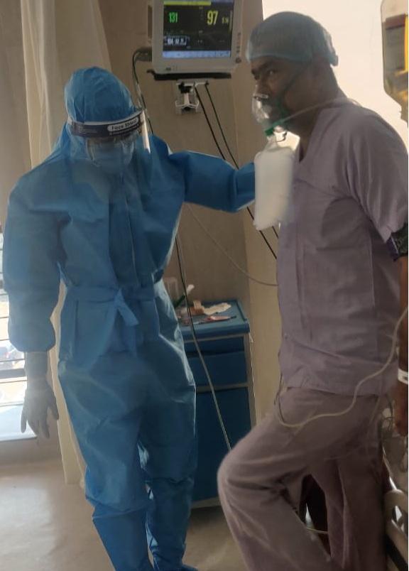 ફિઝિયોથેરાપીની મદદથી દર્દીઓને સમસ્યા ઓછી કરાઈ રહી છે