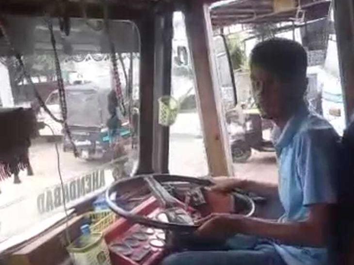 ભણવાની પ્રેરણાથી ધો.10 પાસ કર્યું, લાયસન્સ મળતાં હવે ટ્રક ચલાવું છું - Divya Bhaskar