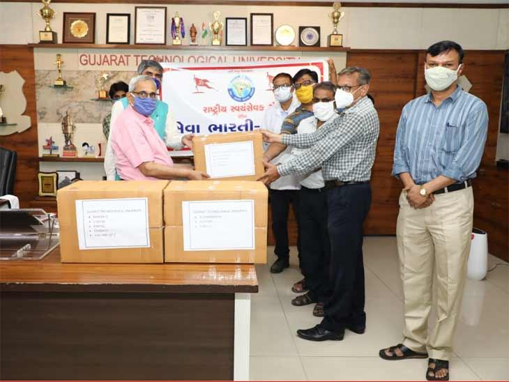 જીટીયુ NSSના સ્વંય સેવકો દ્વારા 1 લાખથી વધુની વણવપરાયેલ દવાઓ ઉઘરાવીને જરૂરીયાતમંદ સુધી પહોંચાડવામાં આવી|અમદાવાદ,Ahmedabad - Divya Bhaskar