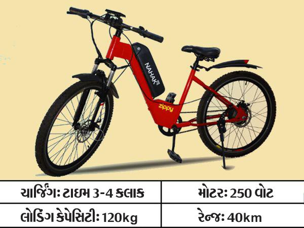 ફુલ ચાર્જ થઇને 40 કિમી દોડનારી ઇ-સાઇકલ, 1 કિમીનો ખર્ચ માત્ર 10 પૈસા આવશે અને સાથે ફિટ પણ રહેવાશે|ઓટોમોબાઈલ,Automobile - Divya Bhaskar