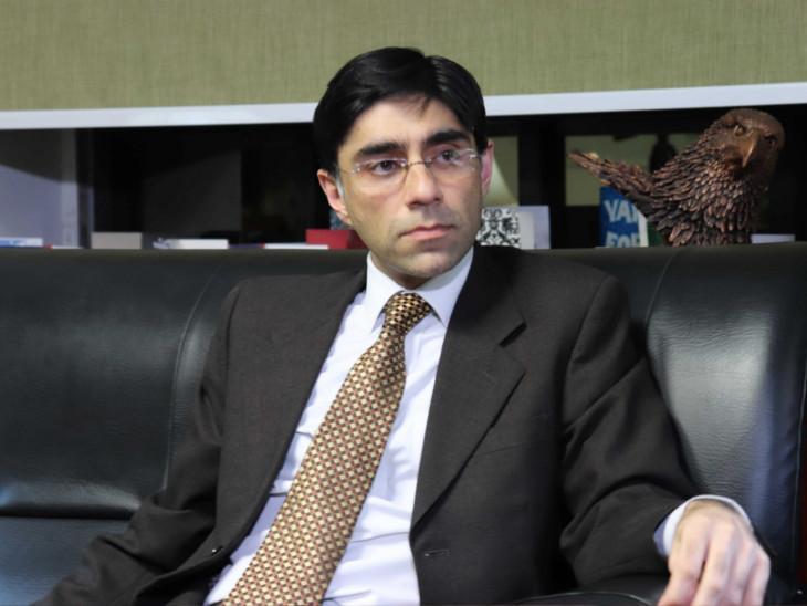 પાકિસ્તાનના રાષ્ટ્રીય સુરક્ષા સલાહકાર મોઇદ યુસુફની ફાઇલ તસવીર - Divya Bhaskar