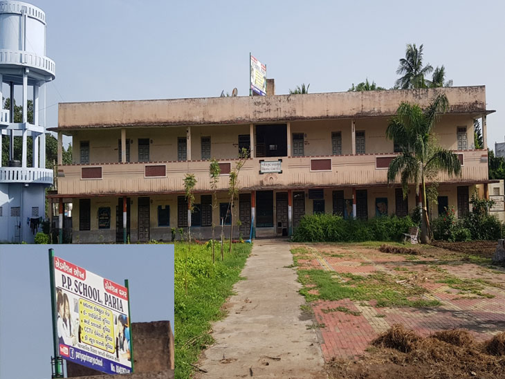 ઓલપાડ તાલુકાના પરિયા ગામની સરકારી સ્કૂલ - Divya Bhaskar