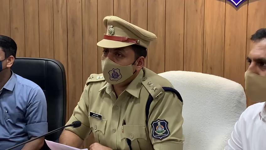 રાજકોટ ગ્રામ્ય પોલીસવડા બલરામ મીણા.