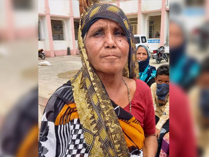 હત્યારા પુત્રની માતાની તસવીર. - Divya Bhaskar