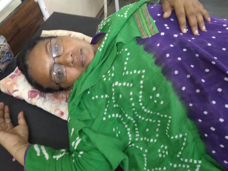 આપઘાતનો પ્રયાસ કરનાર પ્રીતિબેન - Divya Bhaskar