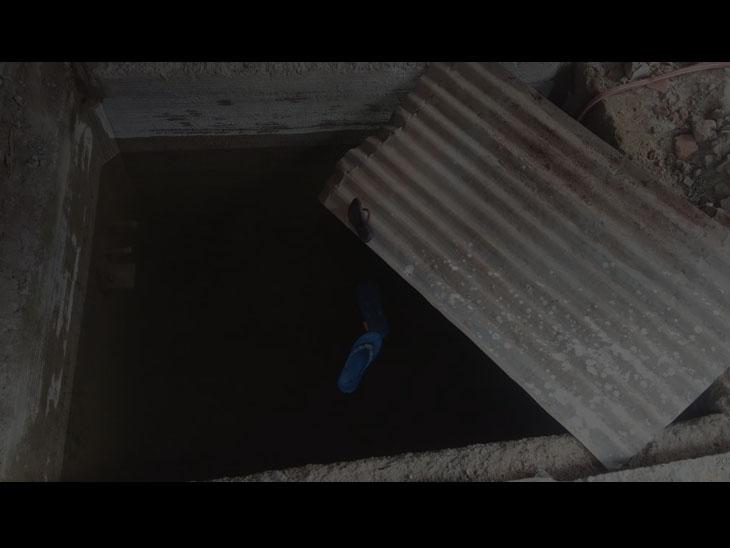 કલોલમાં પાણીના હોજમાં પડી જતાં બે બાળકીઓના મોત થયા હતા. - Divya Bhaskar