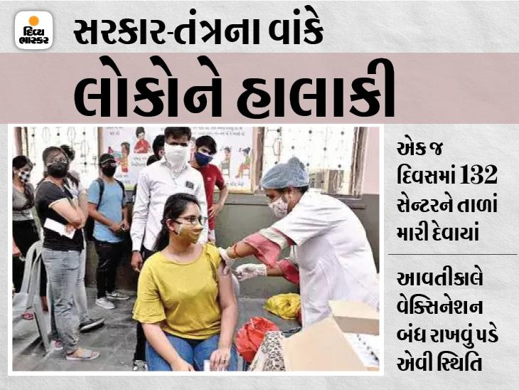 સુરતીઓ આજે માત્ર 40 સેન્ટર પર જ મળશે કોરોના વેક્સિન, જાણો સેન્ટરનું સંપૂર્ણ લિસ્ટ|સુરત,Surat - Divya Bhaskar