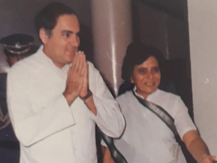 30 વર્ષની ઉંમરે સક્રિય રાજકારણમાં એન્ટ્રી લીધી હતી અને 34 વર્ષની વયે કુમુદબેન સાંસદ બન્યાં હતાં. - Divya Bhaskar