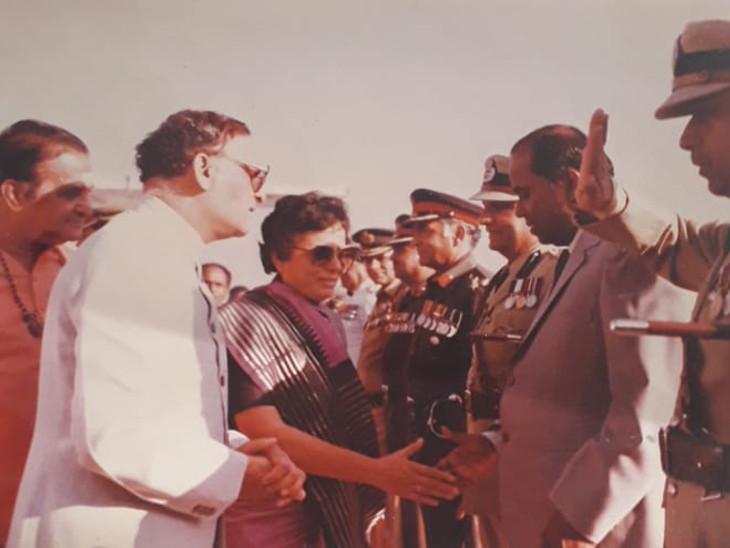 કુમુદબેન 26મી નવેમ્બર 1985થી 7 ફેબ્રુઆરી 1990 સુધી આંધ્રપ્રદેશના રાજ્યપાલ રહ્યા હતા.