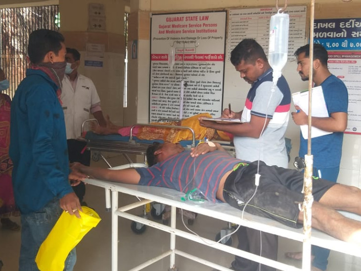 વડોદરાના મિયાગામમાં પૂત્રવધૂના ત્રાસથી કંટાળી માતા-પુત્રએ ઝેરી દવા ગટગટાવી આપઘાતનો પ્રયાસ કર્યો, બંને સયાજી હોસ્પિટલમાં સારવાર હેઠળ|વડોદરા,Vadodara - Divya Bhaskar
