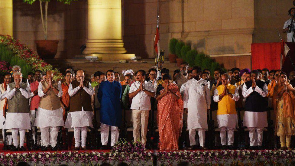બીજી ટર્મમાં મોદી સરકારે 58 મંત્રી સાથે કરી હતી શરૂઆત.
