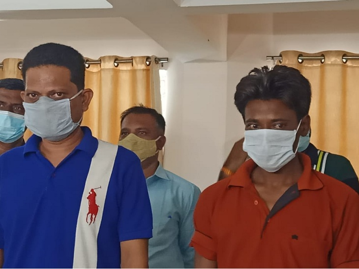 અમદાવાદમાં રૂ. 7 લાખની કિંમતના મેથેમ્ફેટેમાઇન ડ્રગ્સ સાથે બે આરોપીઓ ઝડપાયા|અમદાવાદ,Ahmedabad - Divya Bhaskar