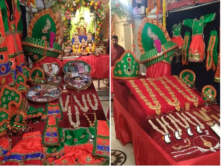 સરસપુરમાં ભગવાનનું મામેરા ભર� - Divya Bhaskar