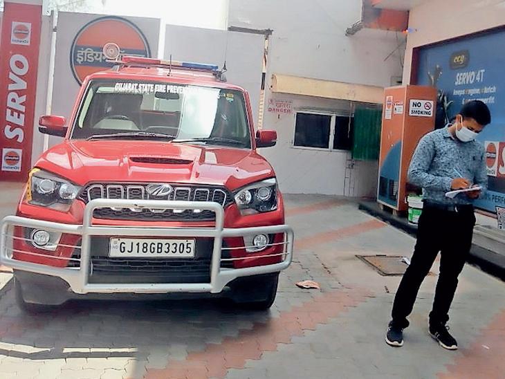 ડભોઈમાં ફાયર સેફ્ટીની ટીમ દ્વારા 70 સ્થળોએ તપાસ હાથ ધરાઈ|ડભોઈ,Dabhoi - Divya Bhaskar