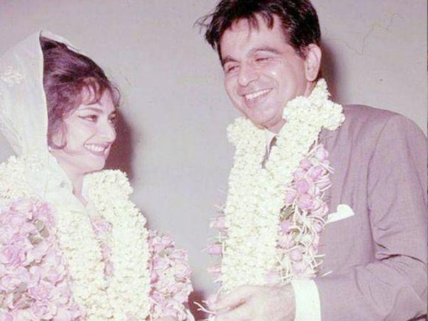 લગ્ન સમયે દિલીપ કુમાર 44 વર્ષના અને સાયરા બાનો 22 વર્ષના હતાં - Divya Bhaskar