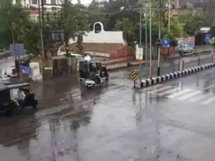 છેલ્લા 24 કલાકમાં રાજ્યના સાત તાલુકાઓમાં વરસાદ નોંધાયો, રવિવારથી ત્રણ દિવસ ગુજરાતમાં ભારે વરસાદની આગાહી|અમદાવાદ,Ahmedabad - Divya Bhaskar