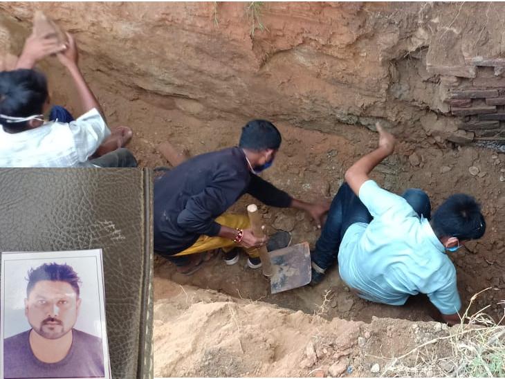 ઓરા ગામે પતિ-પત્નીએ પ્રેમીની હત્યા કર્યાના 12 દિવસે પતિનો ગળાફાંસો|સંતરામપુર,Santrampur - Divya Bhaskar