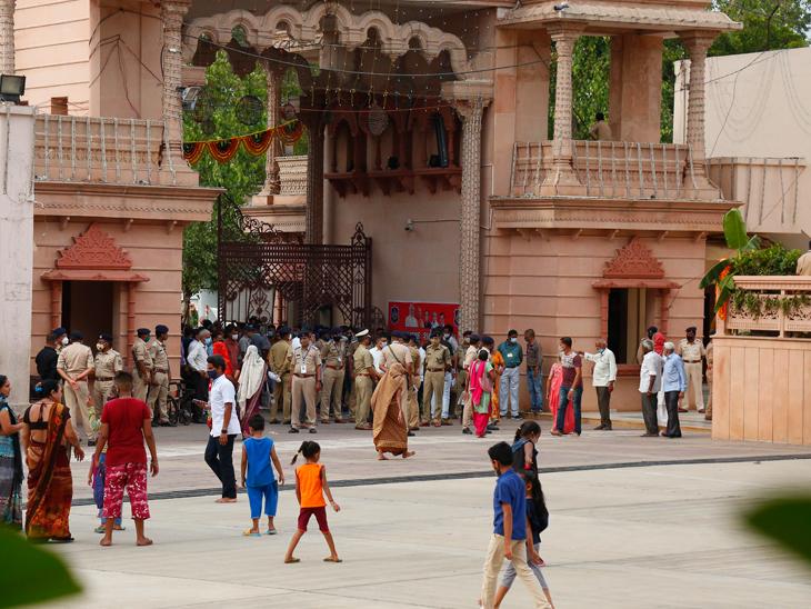જગન્નાથજી મંદિરનું પરિસર, જમાલપુર
