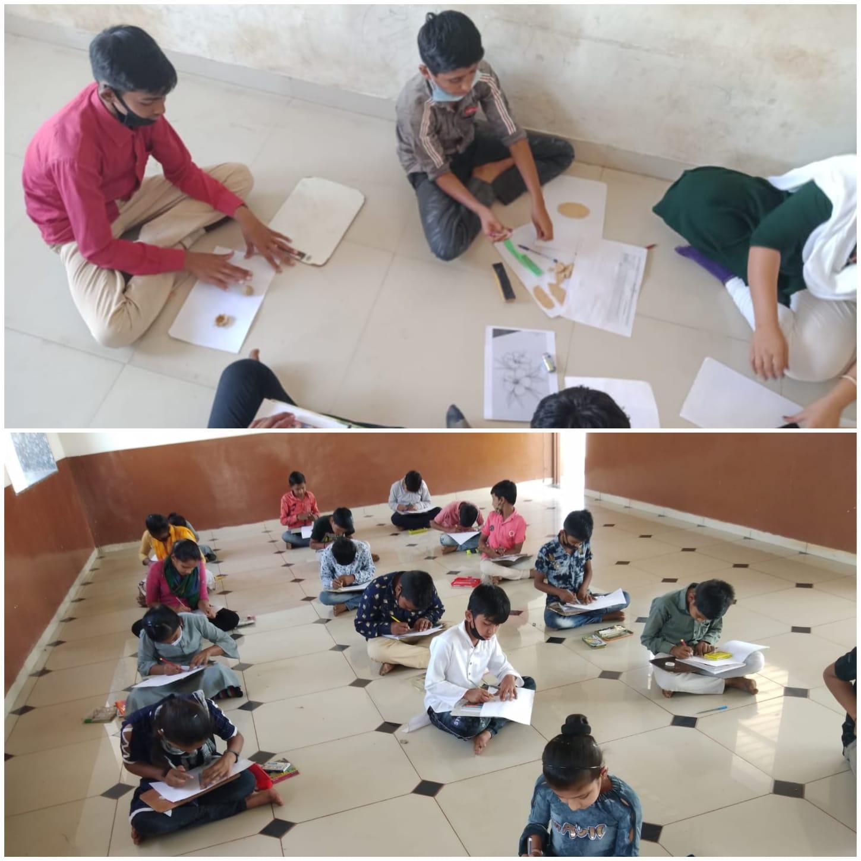 સાયલામાં શરૂ કરાયેલ શેરી શિક્ષણનો પાયલોટ પ્રોજેક્ટ