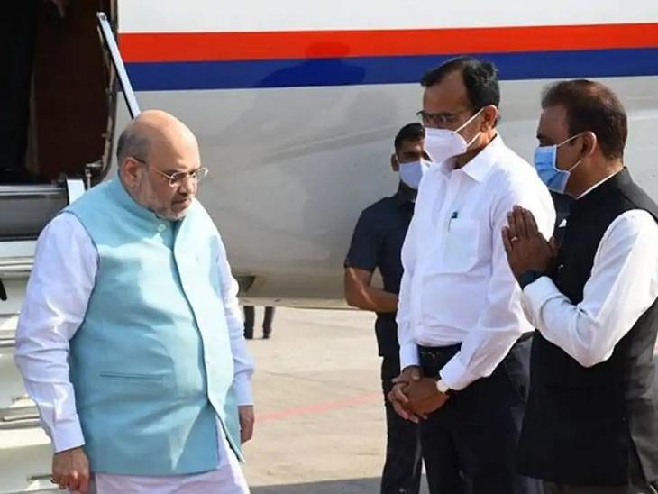 અમિત શાહ અમદાવાદ પહોંચ્યા, આવતીકાલે વિકાસ કામોનું લોકાર્પણ કરશે; રથયાત્રાના દિવસે જગન્નાથ મંદિરમાં મંગળા આરતી કરશે અમદાવાદ,Ahmedabad - Divya Bhaskar