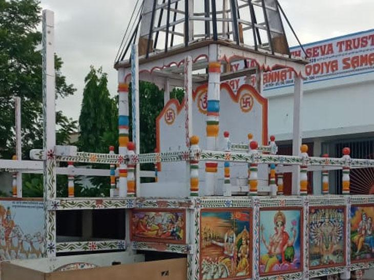 ભગવાન જગન્નાથ સતત બીજા વર્ષે પણ ગાંધીધામમાં નગરચર્યા નહીં કરે|ગાંધીધામ,Gandhidham - Divya Bhaskar