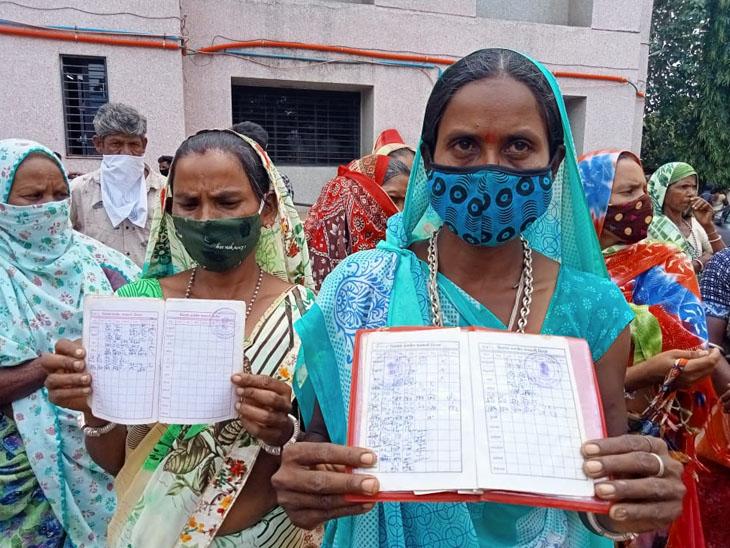 PMGKY યોજનાનુંં અનાજ 3 માસથી ન આપી સંચાલકનો ભ્રષ્ટાચાર દેડિયાપાડા,Dediapada - Divya Bhaskar
