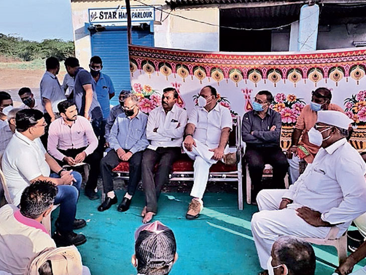 નાના કપાયાની કંપનીએ સ્થાનિકોને રોજગારી આપવાનો કોલ આપ્યો|મુન્દ્રા,Mundra - Divya Bhaskar