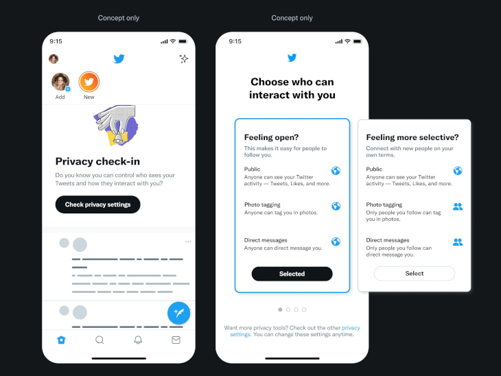 કંપનીએ મલ્ટિપલ પ્રાઈવસી ફીચર્સનું ટેસ્ટિંગ શરૂ કર્યું, ટ્વિટર યુઝર પોતાનું અકાઉન્ટ સર્ચ રિઝલ્ટમાંથી હાઈડ કરી શકશે|ગેજેટ,Gadgets - Divya Bhaskar