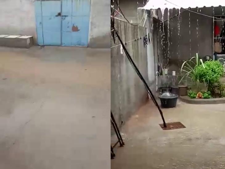 લોધિકા તાલુકાના ગ્રામ્ય વિસ્તારોમાં વરસાદ