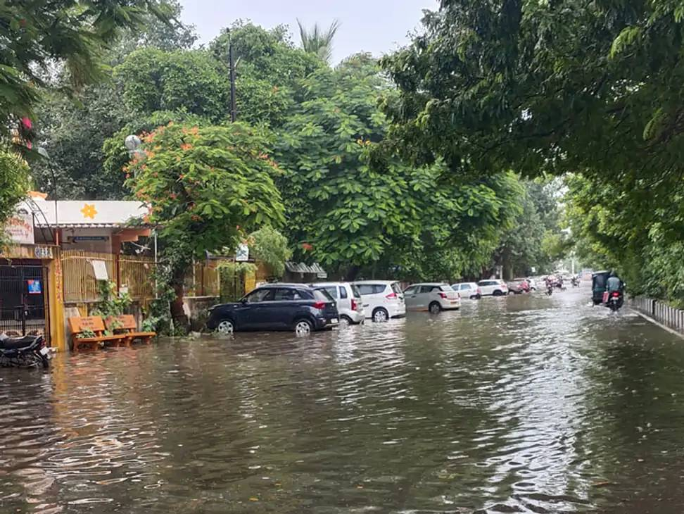 ઉત્તર ગુજરાતમાં બનાસકાંઠા અને સાબરકાઠામાં વરસાદ થયો