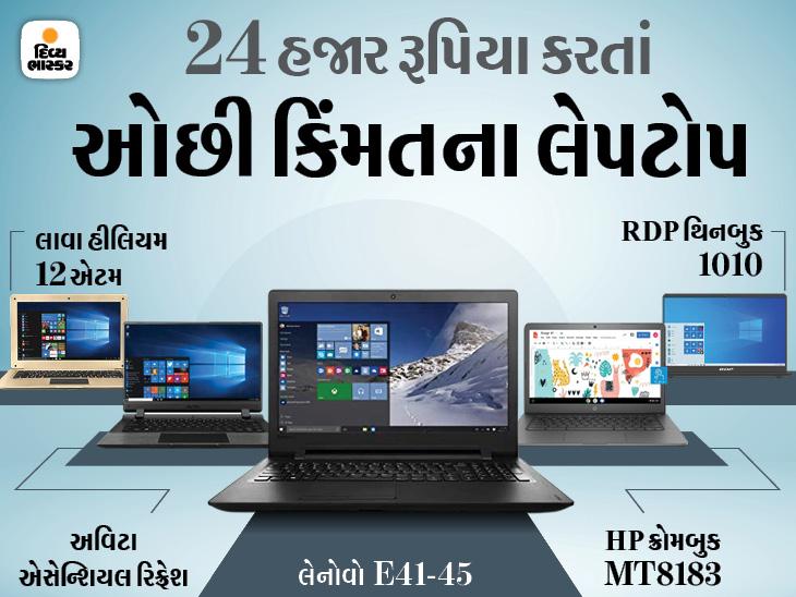 વર્ક ફ્રોમ હોમ અને ઓનલાઈન ક્લાસિસ માટે બેસ્ટ ઓપ્શન સાબિત થઈ શકે છે આ 5 લેપટોપ, પ્રારંભિક કિંમત ₹13,000|ગેજેટ,Gadgets - Divya Bhaskar