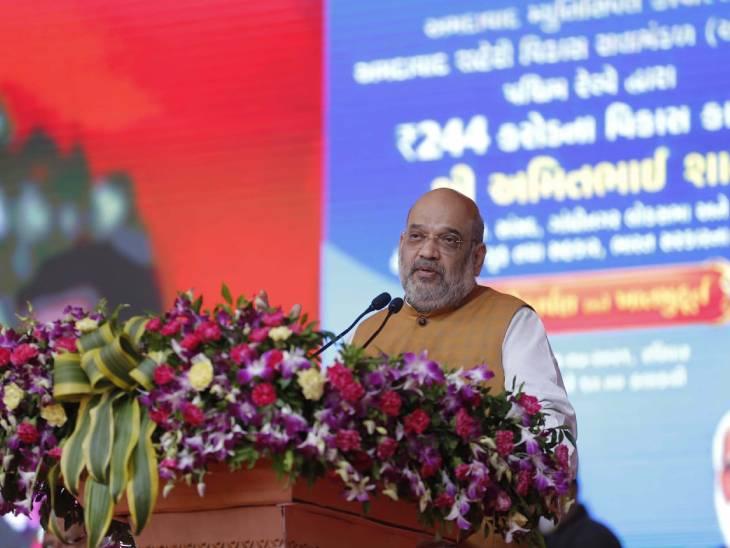 વેક્સિનેશન અભિયાનમાં ગુજરાત દેશમાં પ્રથમ, અમદાવાદમાં 86 ટકા લોકોને વેક્સિન અપાઈ ગઈ છેઃ અમિત શાહ|અમદાવાદ,Ahmedabad - Divya Bhaskar
