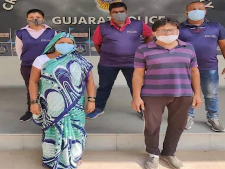 પોલીસે આરોપી પત્નીને ઝડપી પાડી - Divya Bhaskar