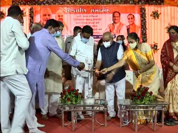 2020 પહેલાં નવી ટોપીવાળા આવ્યા છે એમાં ભરમાવાની જરૂર નથી : નીતિન પટેલ વિસનગર,Visnagar - Divya Bhaskar